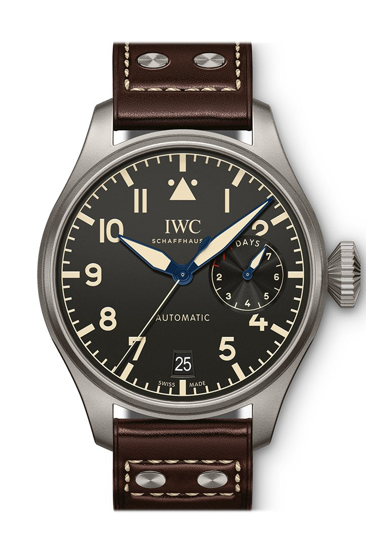 Iwc Big Pilots Automatic Black Dial Mens Watch Iw501004