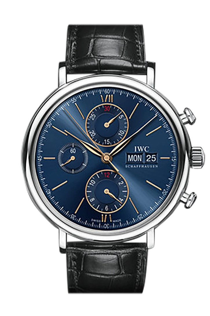 IWC Aquatimer Chronograph Galapagos Islands 44mm Men's Watch IW379502