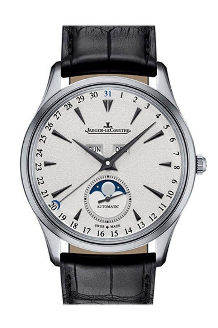 Jaeger-LeCoultre Master Ultra Thin Calendar 18K White Gold Automatic Men's Watch Q1258401