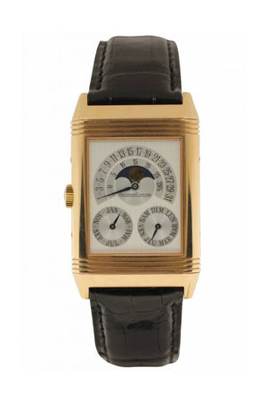 Jaeger Lecoultre Jlc Master Hometime Rg On Lb Q2152420 Silver Watch