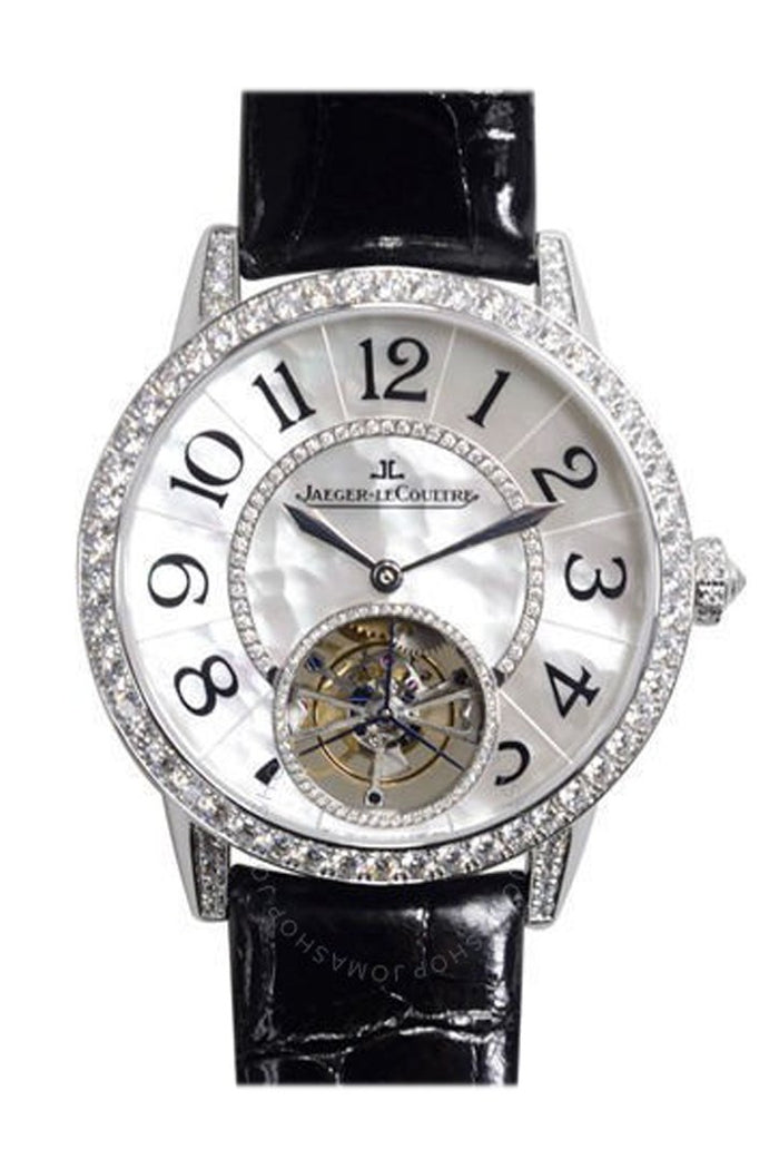 Jaeger LeCoultre JLC Rende-Vous White Gold Tourbillon with Diamond Bezel Q3413403