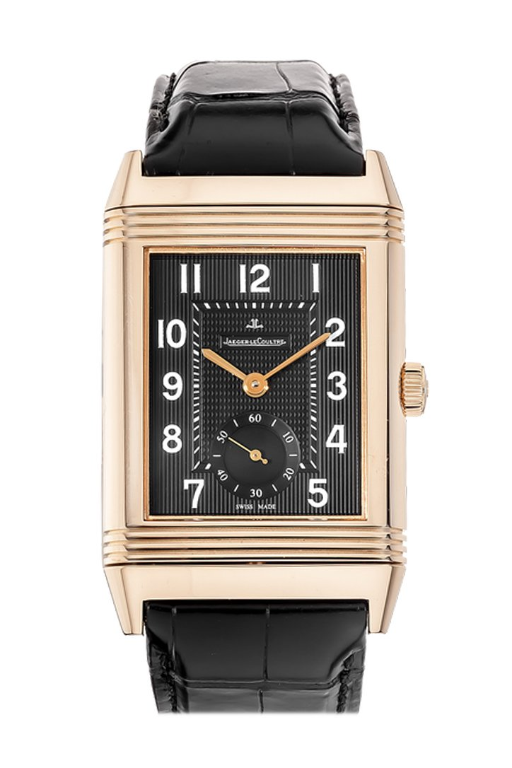 Jaeger LeCoultre JLC Ultra Thin Rose Gold Men's Watch 1272510