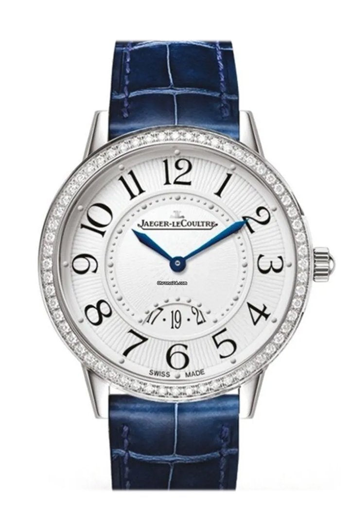 Jaeger Lecoultre Rendez-Vous Silvered Grey Dial Ladies Diamond Watch 3408530