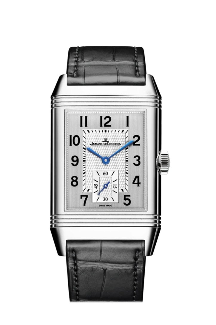 Jaeger Lecoultre Reverso Classique Large Small Seconds Mens Watch 3858520