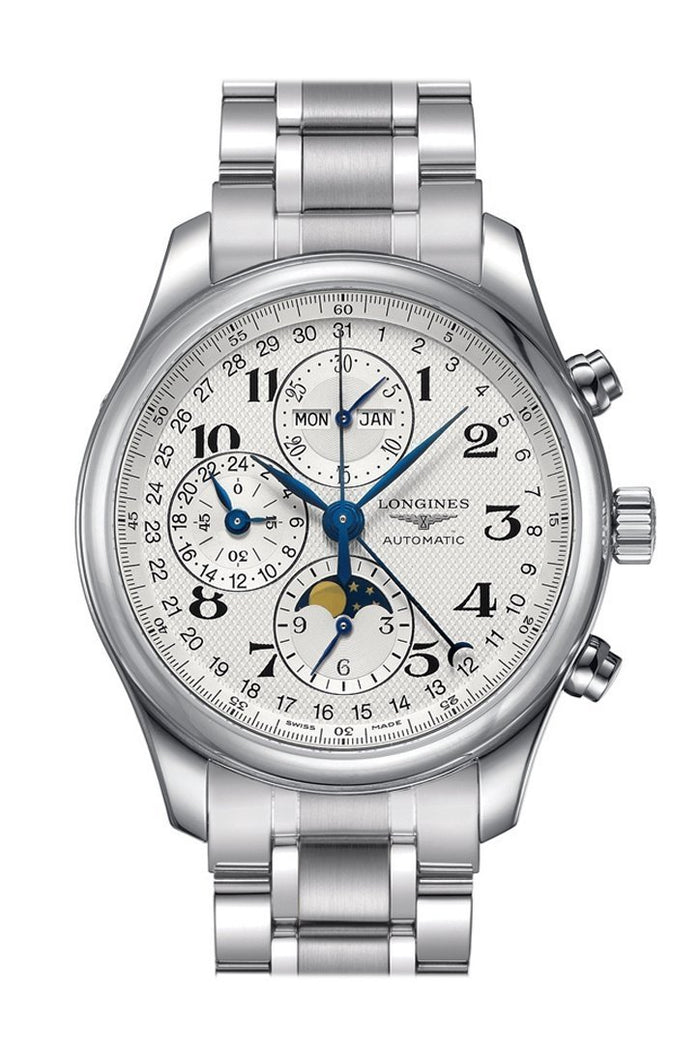 THE LONGINES MASTER COLLECTION 42MM CHRONOGRAPH WITH MOON PHASE L27734786