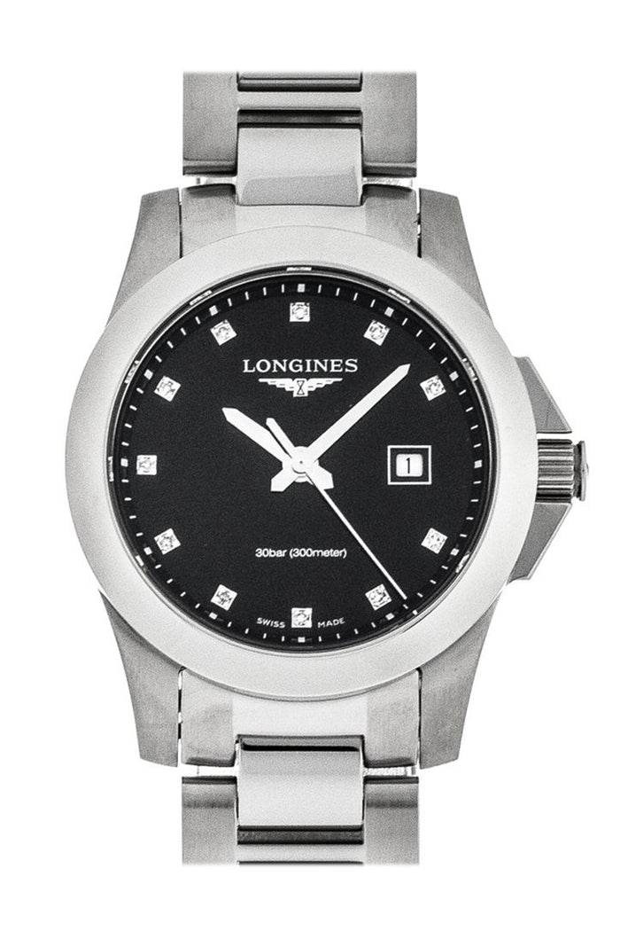 LONGINES CONQUEST DIAMONDS 29.5MM ladies WATCH L32774576