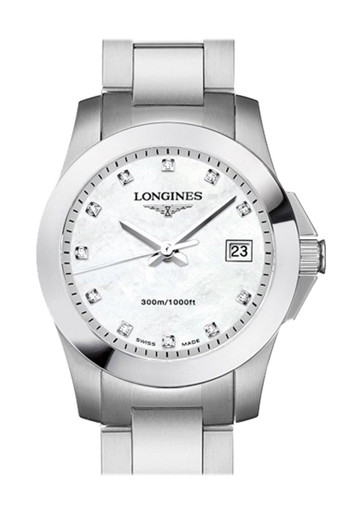Longines Conquest Quartz Date 29.5mm Ladies watch L32774876