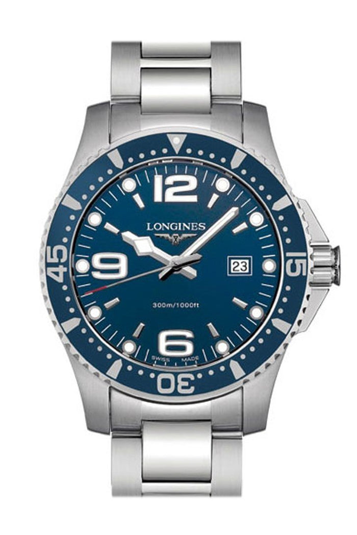 Longines HYDROCONQUEST STAINLESS STEEL DIVING WATCH 39MM men's watch L36404966