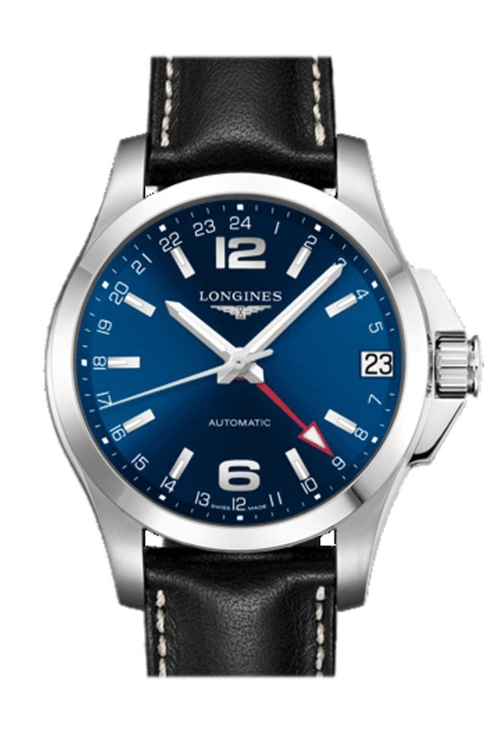 LONGINES Conquest GMT Blue Dial Automatic 41mm Men's Watch L36874992