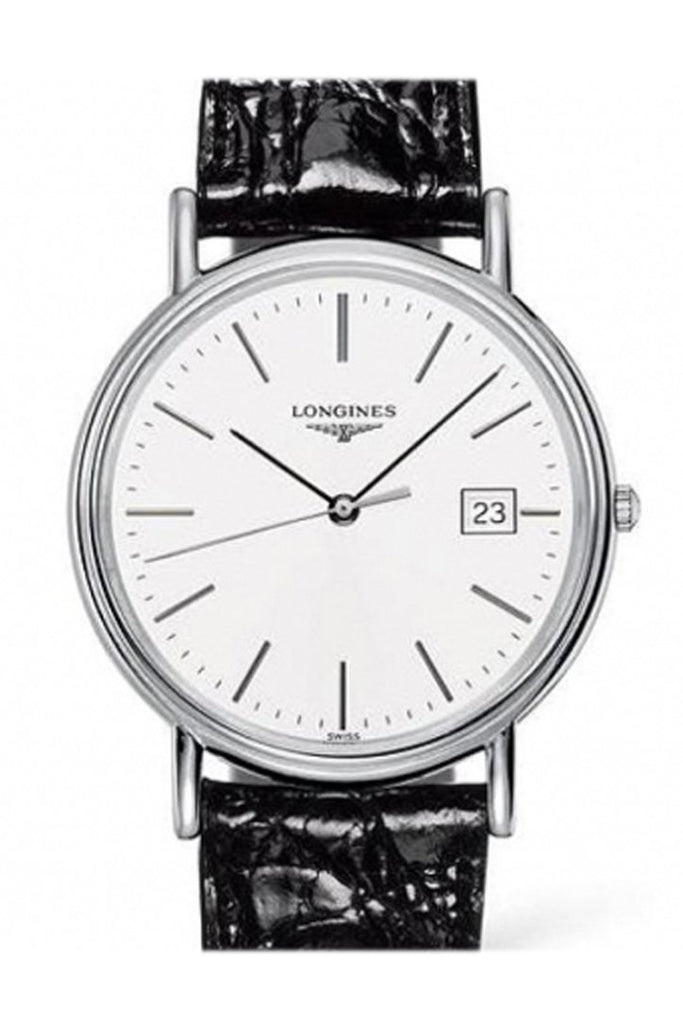 Longines La Grande Presnce White Dial 39Mm Mens Watch L47904122