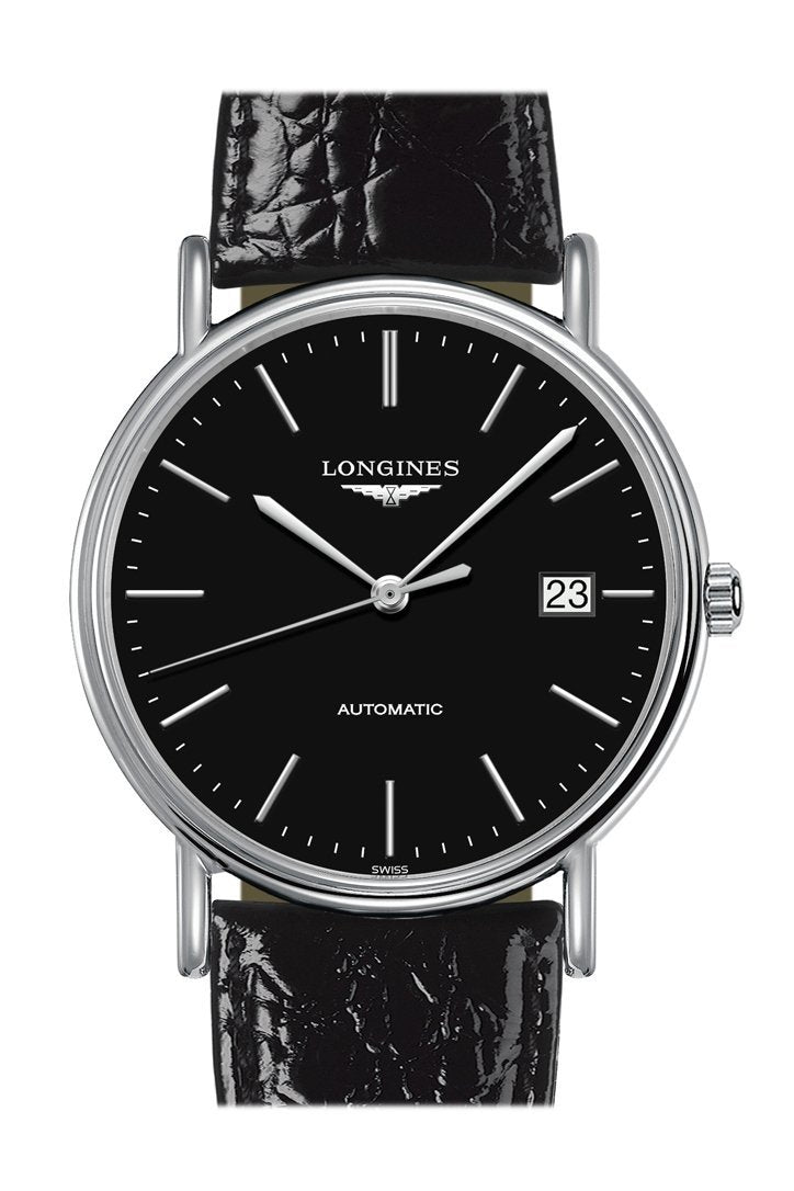 Longines Presence Automatic Black Dial 39Mm Mens Watch L49214522