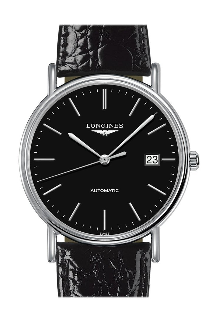 LONGINES Presence Automatic Black Dial 39mm Men's Watch L49214522
