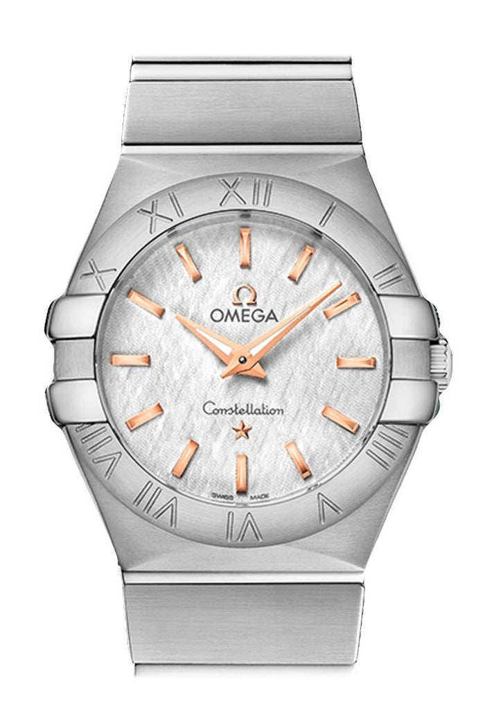 OMEGA Constellation 27 mm Silver Women Quartz 123.10.27.60.02.004