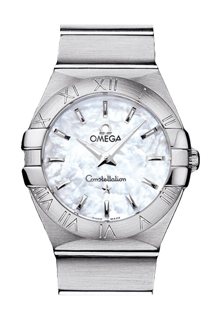OMEGA Constellation 27mm White Women Quartz 123.10.27.60.05.001