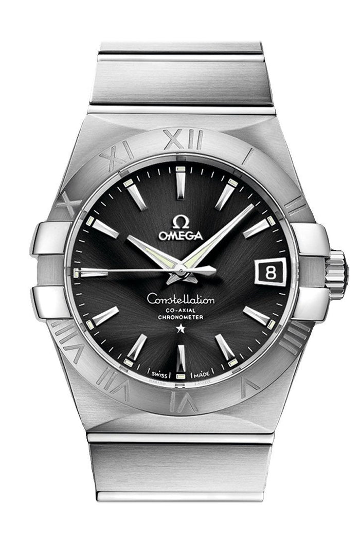OMEGA Constellation 38mm Black Men Automatic 123.10.38.21.01.001