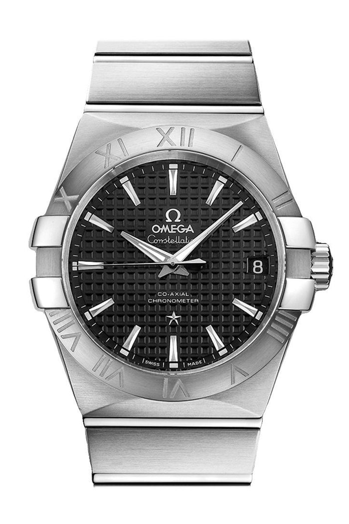 OMEGA Constellation 38mm Black Men Automatic 123.10.38.21.01.002