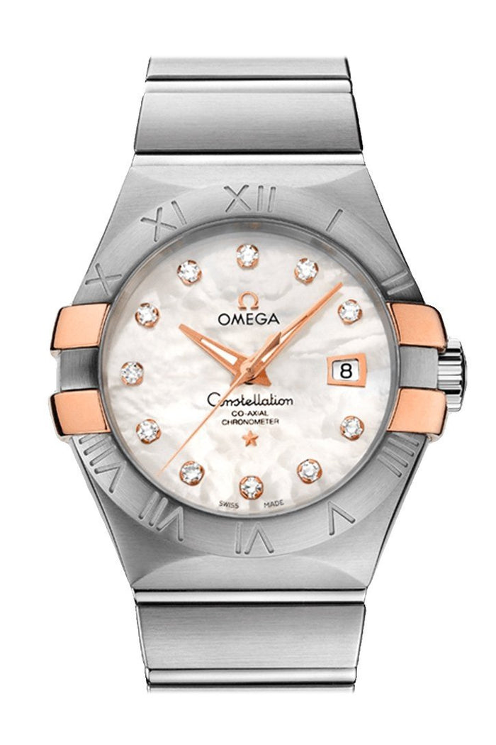 OMEGA Constellation 31mm White Women Automatic 123.20.31.20.55.003