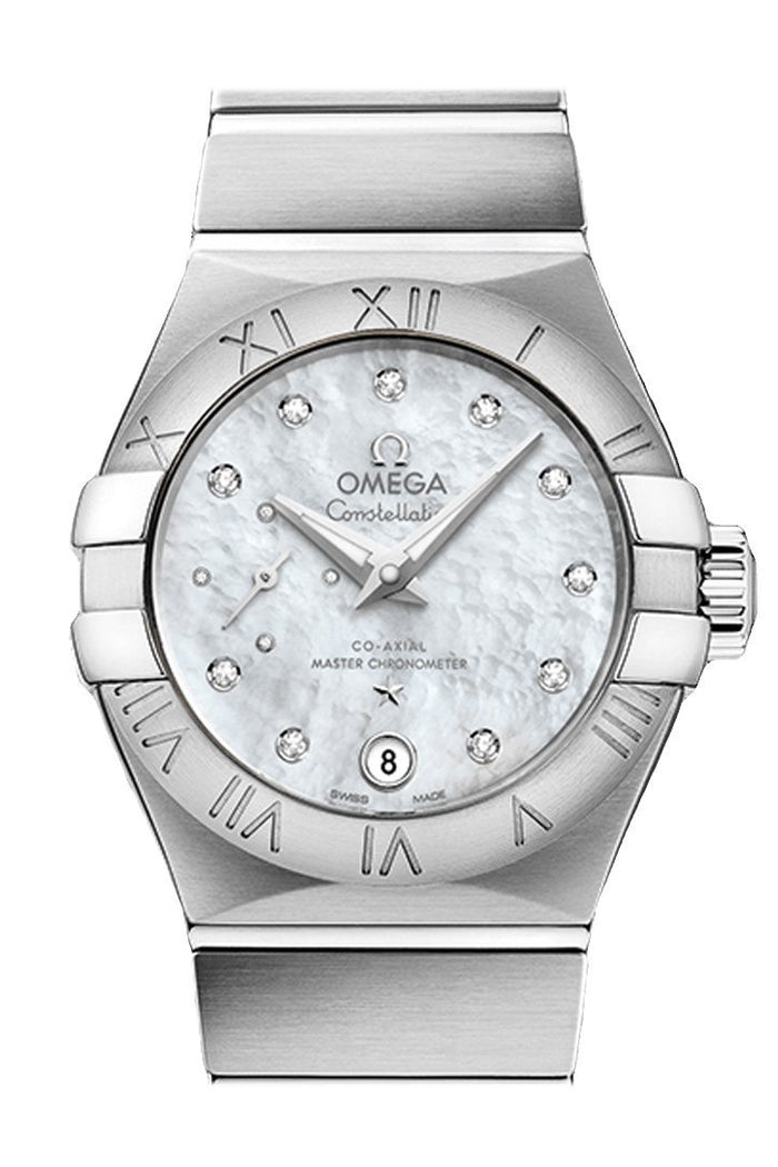 OMEGA Constellation 27mm White Women Automatic 127.10.27.20.55.001