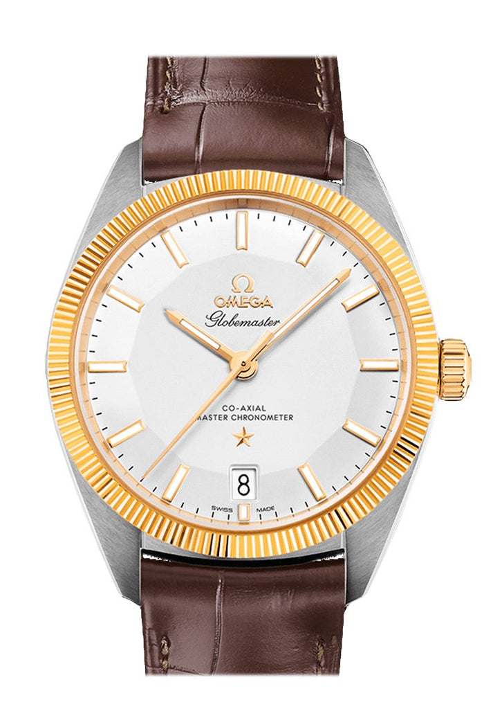 OMEGA Constellation Globemaster 39mm Silver Steel Yellow Gold Men's Automatic 130.23.39.21.02.001