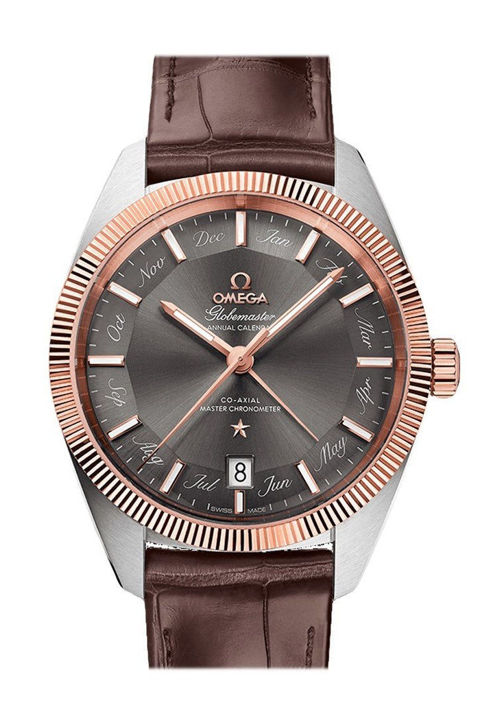 OMEGA Constellation Globemaster 41mm Grey Steel Sedna Gold Men's Automatic 130.23.41.22.06.001