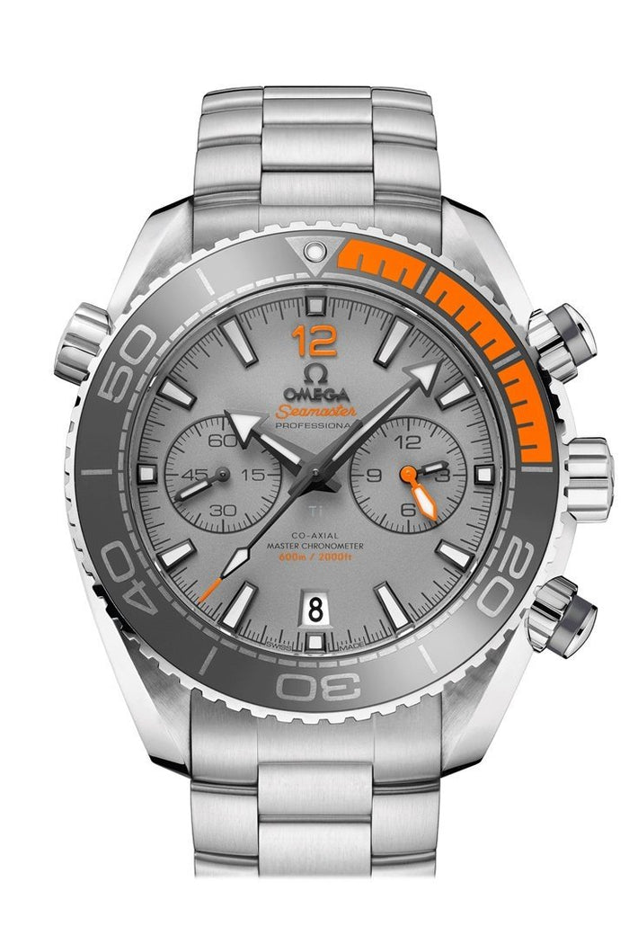 OMEGA Seamaster Planet Ocean 45.5mm Grey Titanium Men's Automatic 215.90.46.51.99.001
