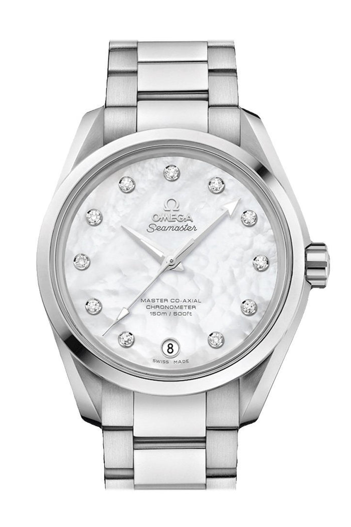 OMEGA Seamaster Aqua Terra 38.5mm White Steel Men's Automatic 231.10.39.21.55.002