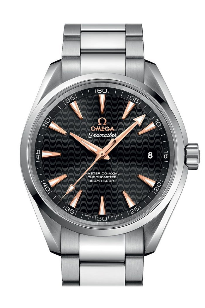 OMEGA Seamaster Aqua Terra 41.5mm Black Steel Men's Automatic 231.10.42.21.01.006