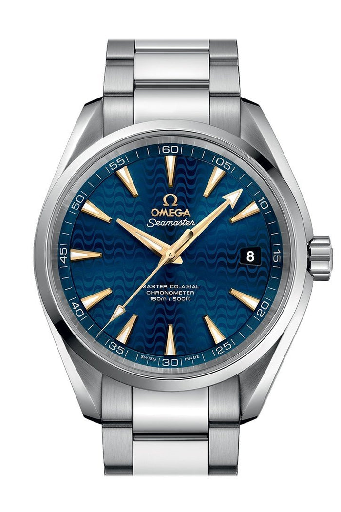 OMEGA Seamaster Aqua Terra 41.5mm Blue Steel Men's Automatic 231.10.42.21.03.006