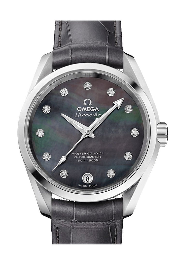 OMEGA Seamaster Aqua Terra 38.5mm Grey Steel Men's Automatic 231.13.39.21.57.001
