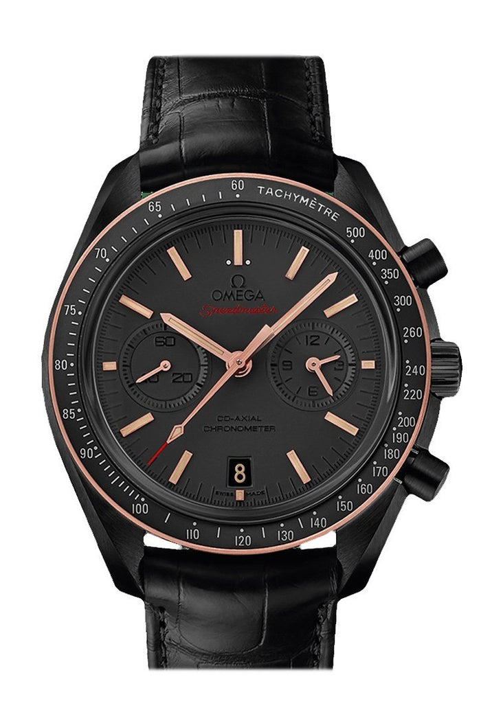 OMEGA Speedmaster Moonwatch 44.5mm Black Sedna Gold Men's Automatic 311.63.44.51.06.001