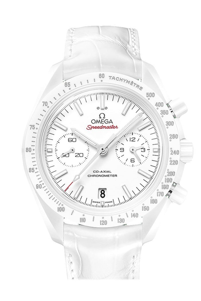 OMEGA Speedmaster Moonwatch 44.25mm White Ceramic White Men's Automatic 311.93.44.51.04.002