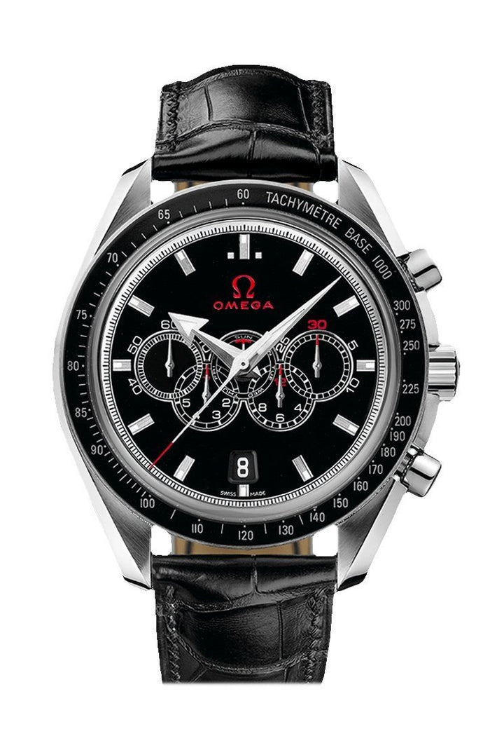 OMEGA Olympic Games Collection 44.25mm Black Steel Men's Automatic 321.33.44.52.01.001