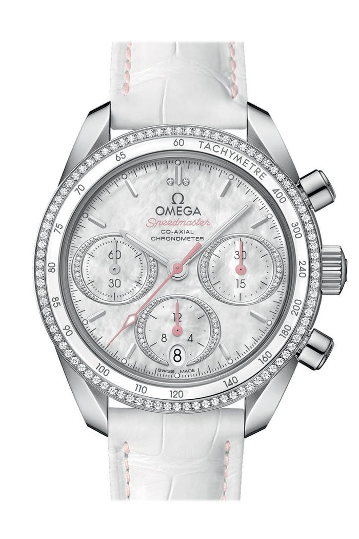 OMEGA Speedmaster38 38mm White Steel Men's Automatic 324.38.38.50.55.001