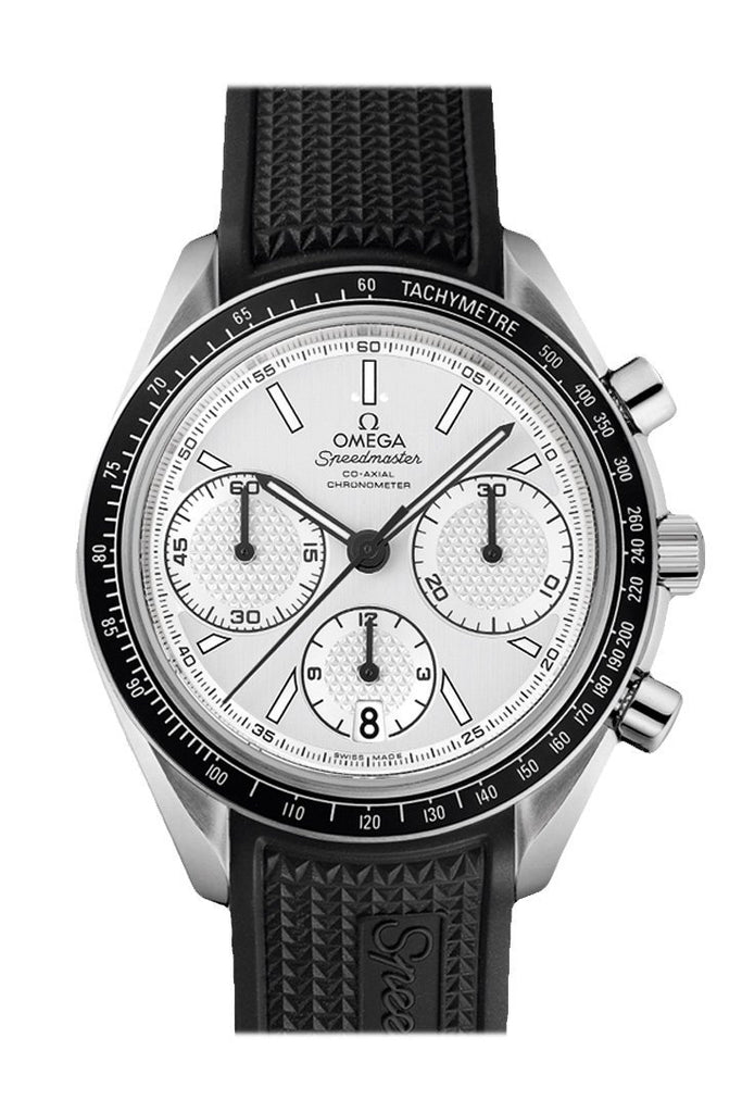 Omega Speedmaster Racing 40Mm Silver Steel Mens Automatic 326.32.40.50.02.001 Watch