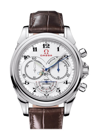 Omega Olympic Games Collection 41 Mm White Steel Mens Automatic 422.13.41.50.04.001 Watch