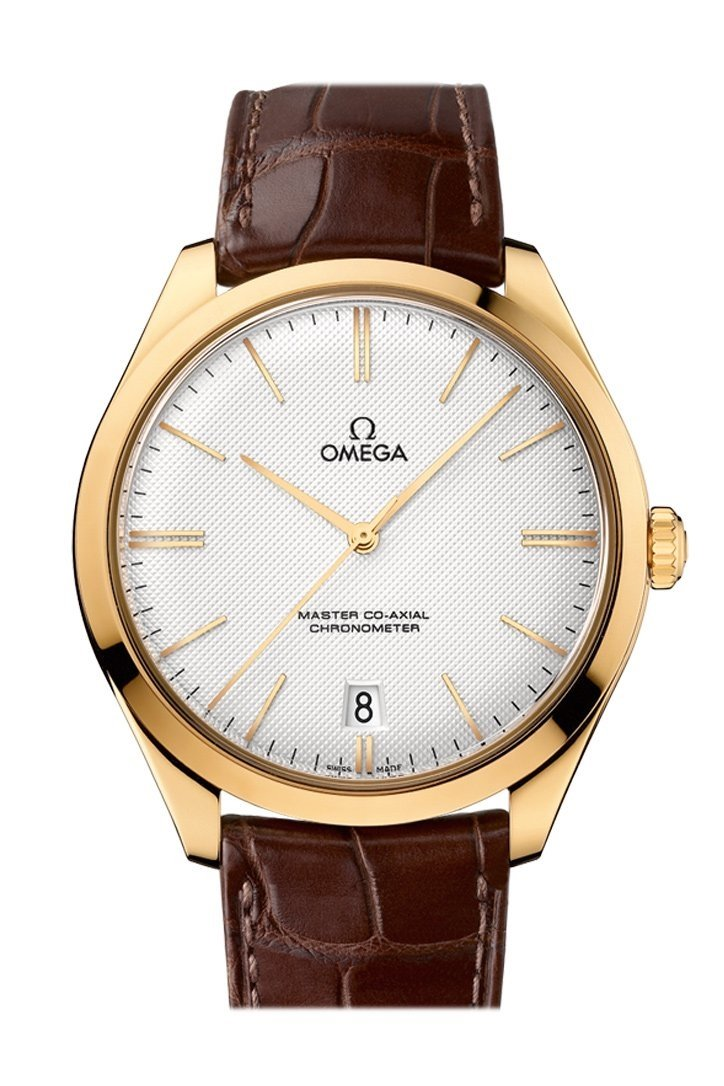 Omega De Ville 40Mm Silver Yellow Gold Mens Automatic 432.53.40.21.02.001 Watch