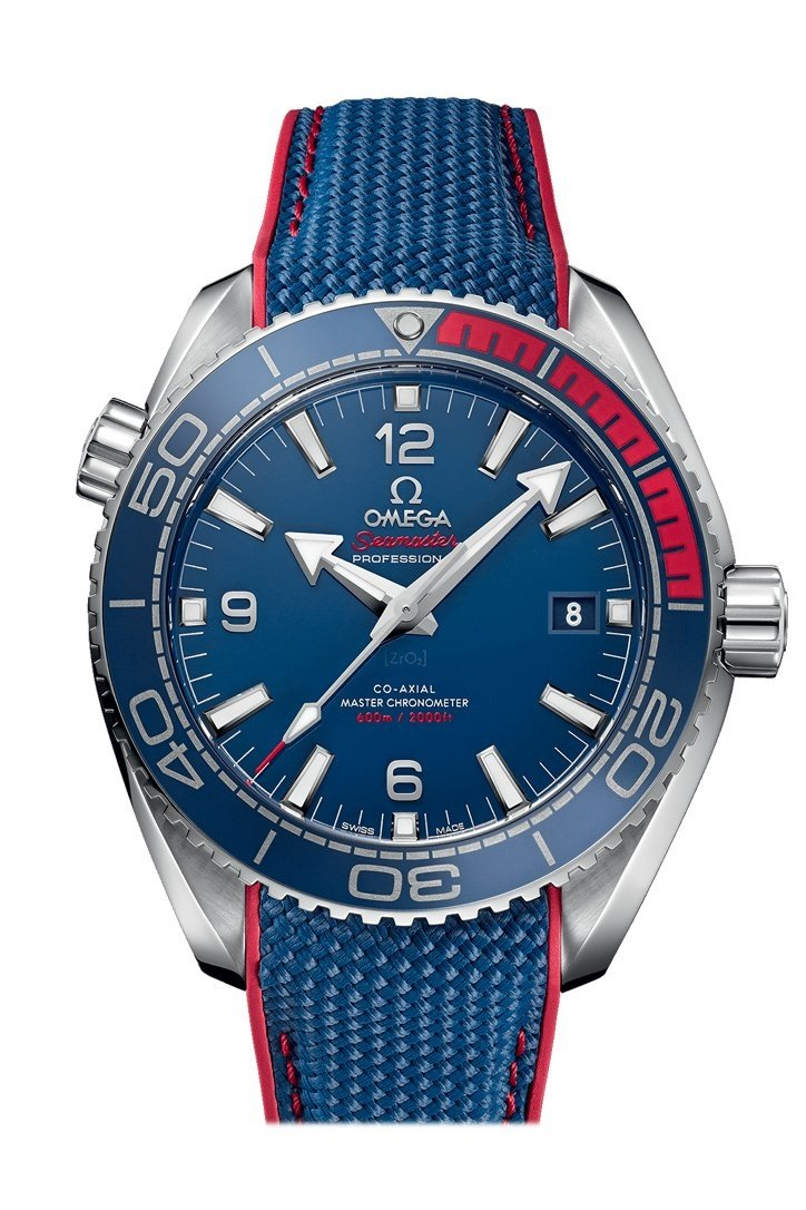 Omega Olympic Games Collection 43.5Mm Blue Steel Mens Automatic 522.32.44.21.03.001 Watch