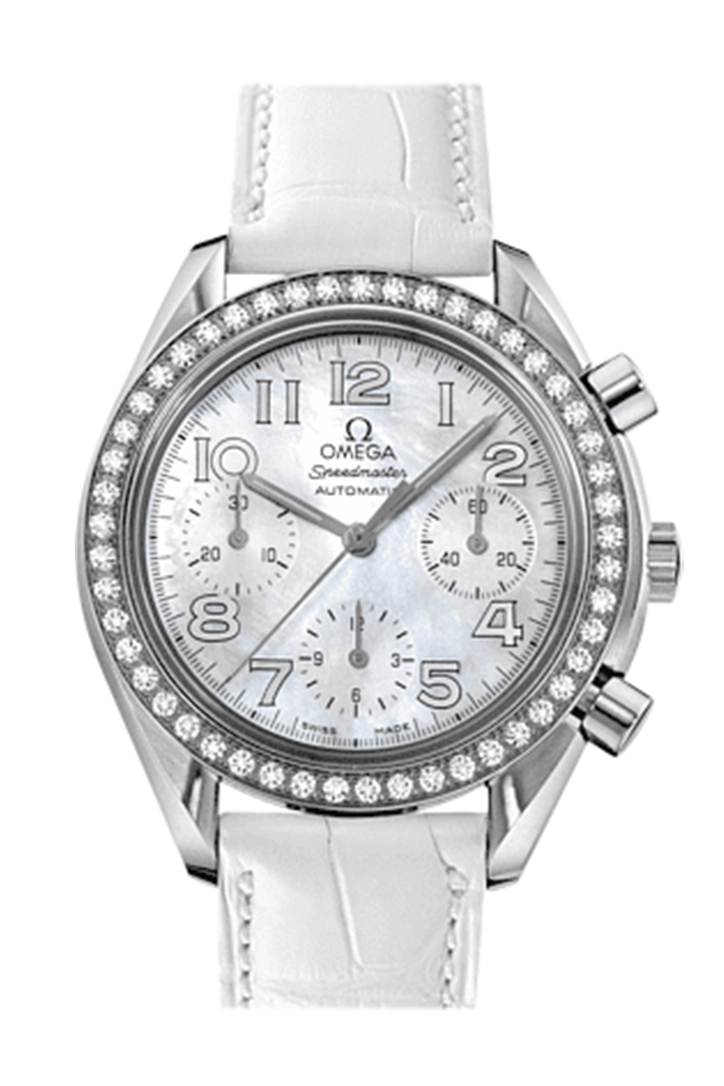 Omega De Ville White Dial Ladies Watch 428.18.39.60.04.001