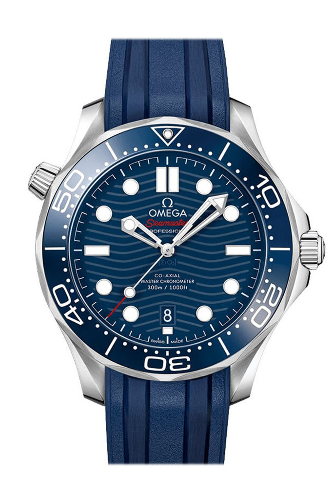 Omega Seamaster Automatic Blue Dial Mens Watch 210.32.42.20.03.001
