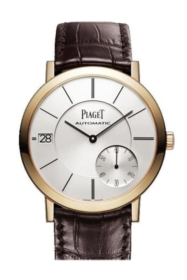 Piaget Altiplano Automatic Silver Dial Mens Watch Goa35131