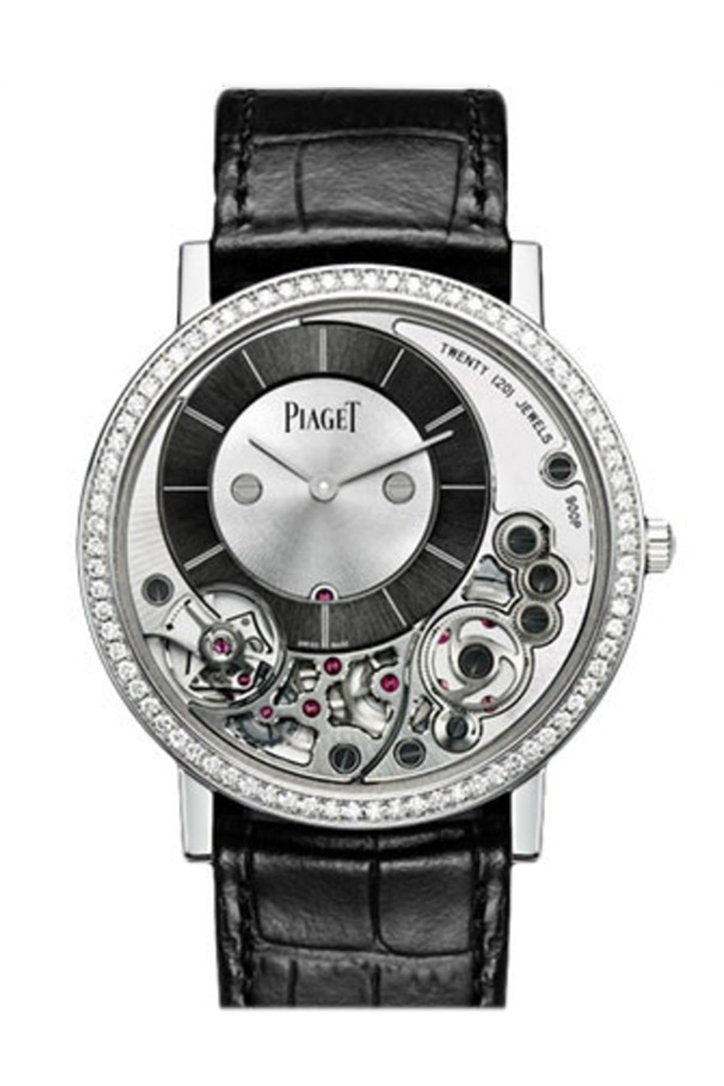 Piaget Altiplano White Gold Diamond Bezel Goa39112 Watch