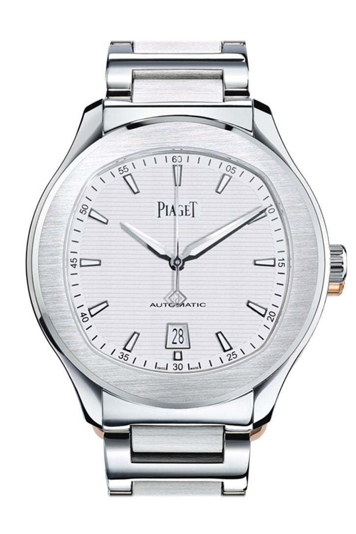 Piaget Gouverneur Automatic Silver Dial Brown Leather Men's Watch G0A37112