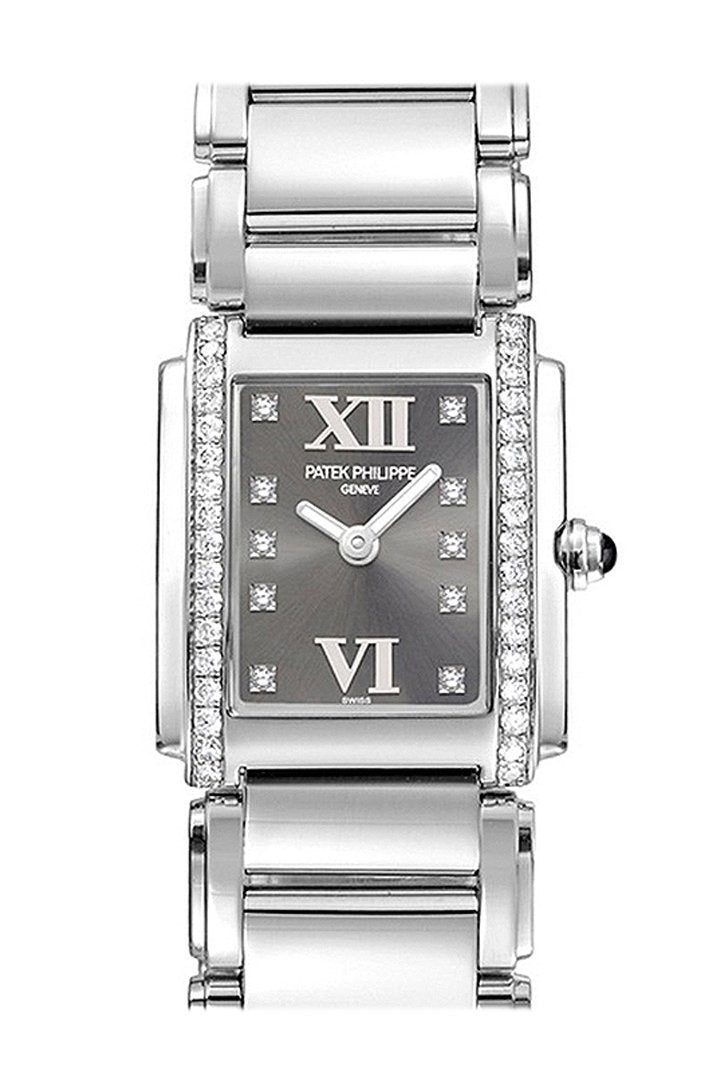 Patek Philippe Twenty Four Eternal Gray Dial 30Mm Ladies Watch 4910/10A-010