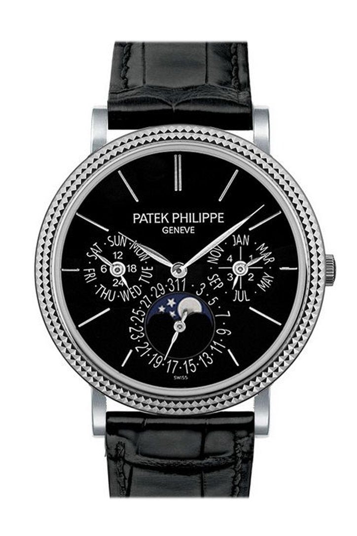 Patek Philippe Grand Complication Automatic 18 Kt White Gold 38Mm Mens Watch 5139G-010
