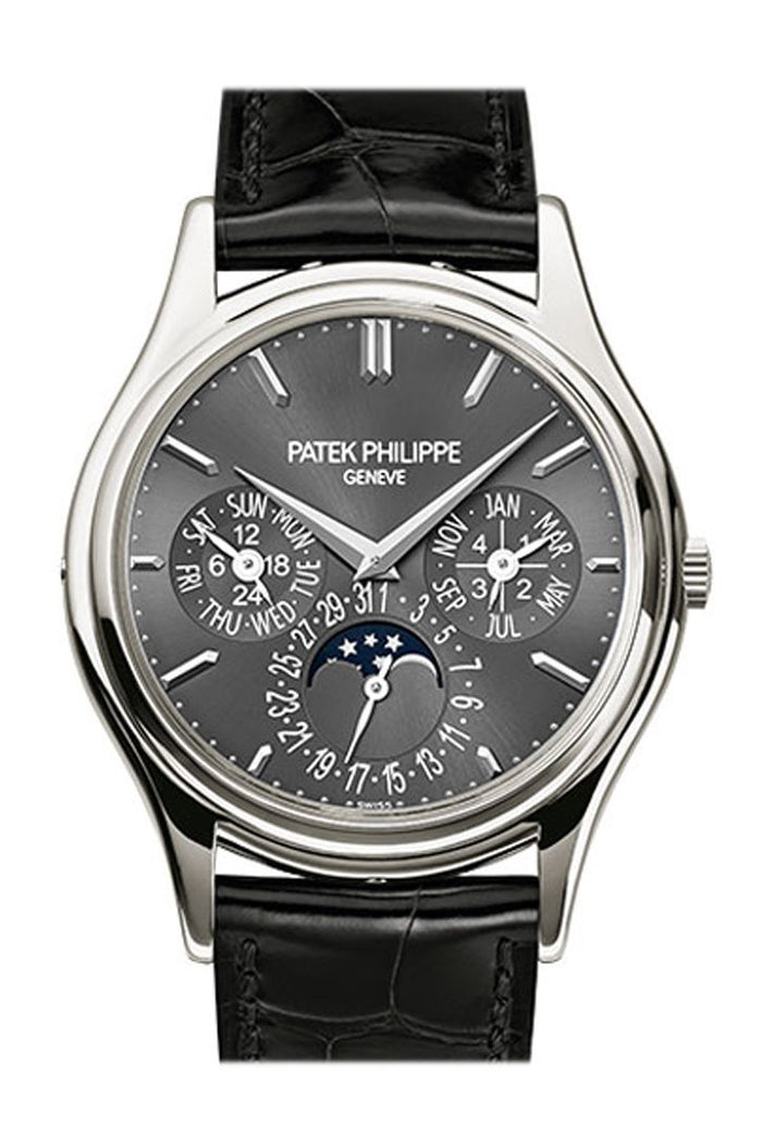 Patek Philippe Grand Complications Gray Dial Platinum Automatic 38mm Men's Watch 5140P-017