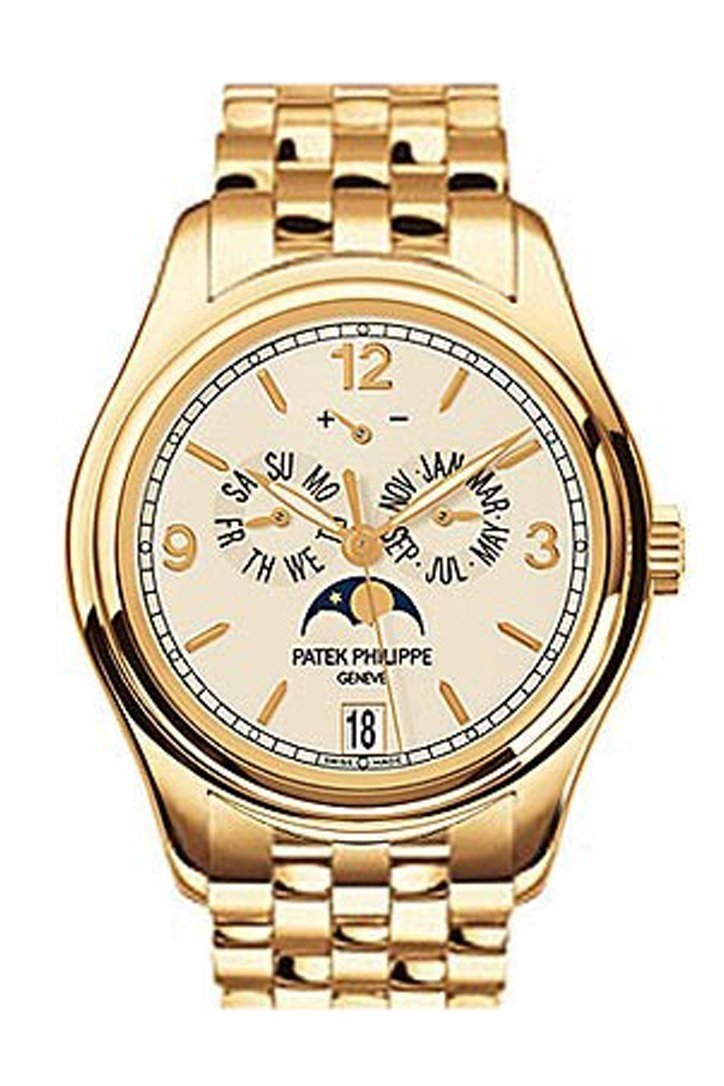 Patek Philippe Complications Mechanical Ivory Dial 38Mm Mens Watch 5146/1J-001