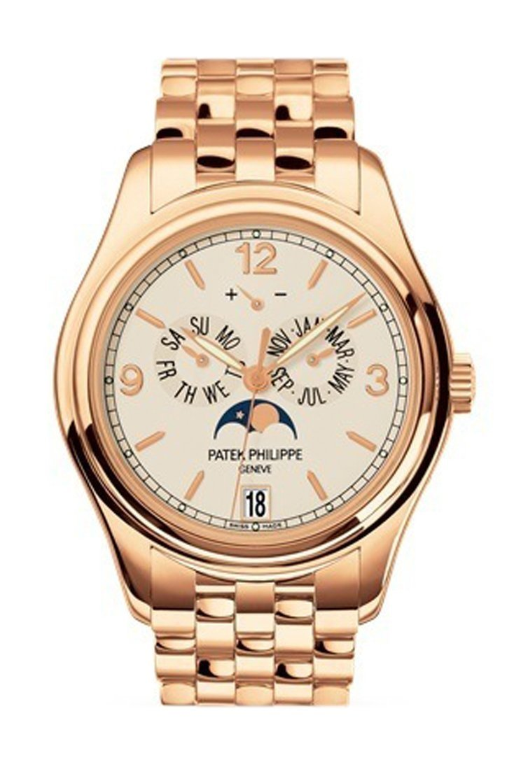 Patek Philippe Complications Mechanical Cream Dial 38Mm Mens Watch 5146/1R-001