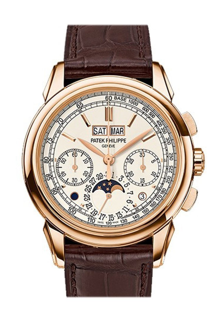 Patek Philippe Grand Complications Silver Dial 18K Rose Gold Men's Watch 5270R-001