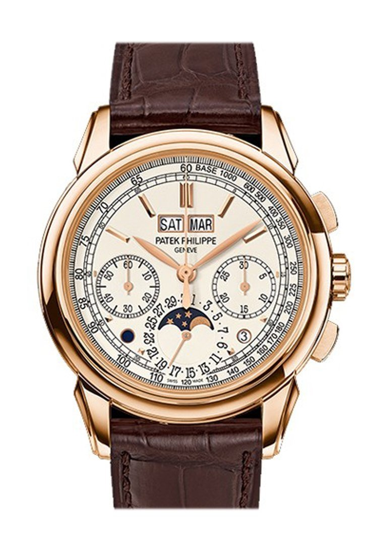 Patek Philippe Grand Complications Silver Dial 18K Rose Gold Mens Watch 5270R-001