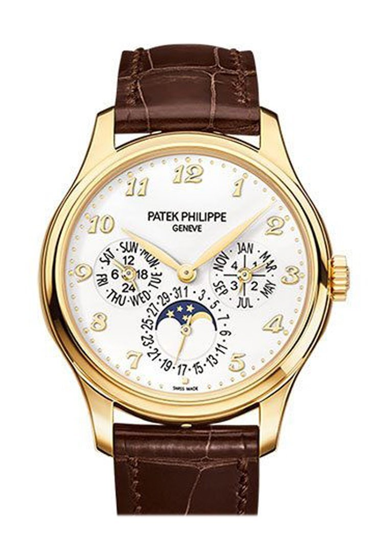 Patek Philippe Calatrava 18K Yellow Gold White Dial 38Mm Mens Watch 5327J-001
